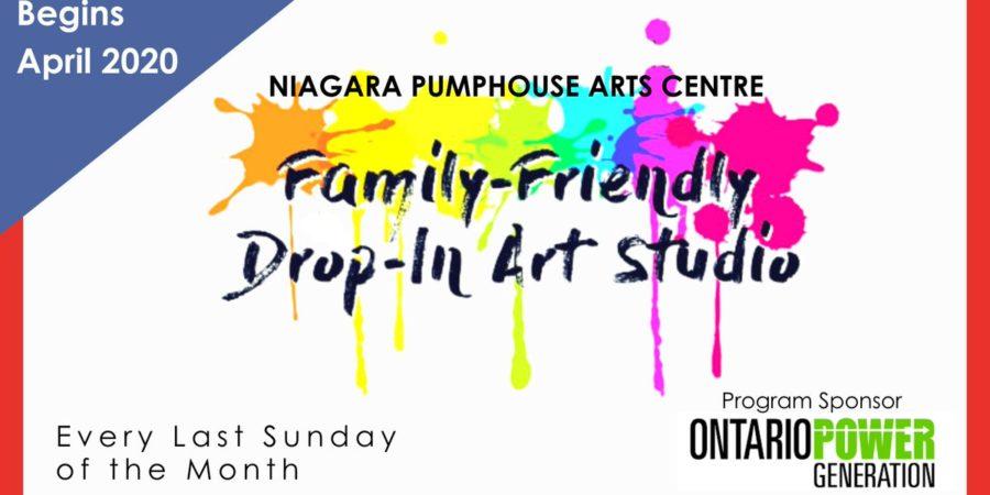 Niagara Pumphouse Family Friendly Drop-In Studio returns in April 2020