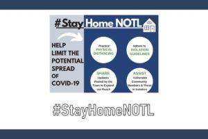 Please #StayHomeNOTL