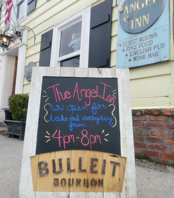 Olde Angel Inn Now Offering Takeout