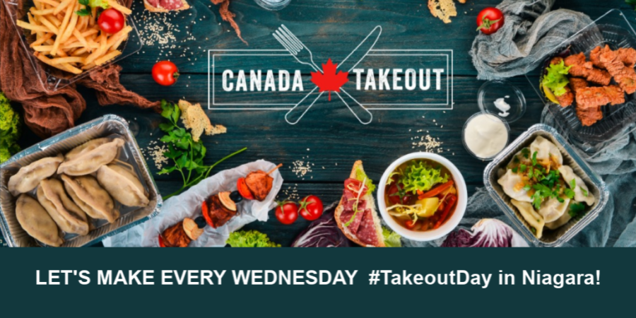 LET'S MAKE EVERY WEDNESDAY #TakeoutDay in Niagara!