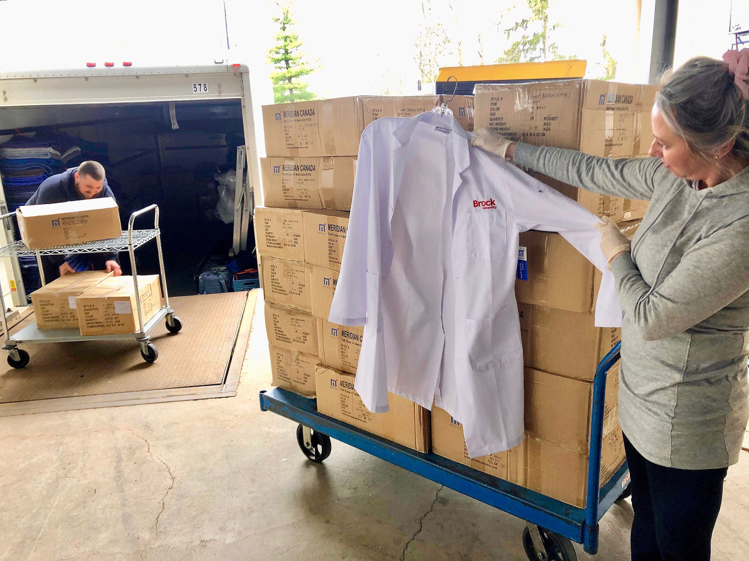 University sends its supplies to Niagara's front-line workers