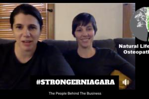 EPISODE 6: #STRONGERNIAGARA Meet Laura Richardson of Natural Life Osteopathic & Wellness