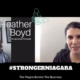 #STRONGERNIAGARA Episode 8: Meet Heather Boyd, Occupational Therapist
