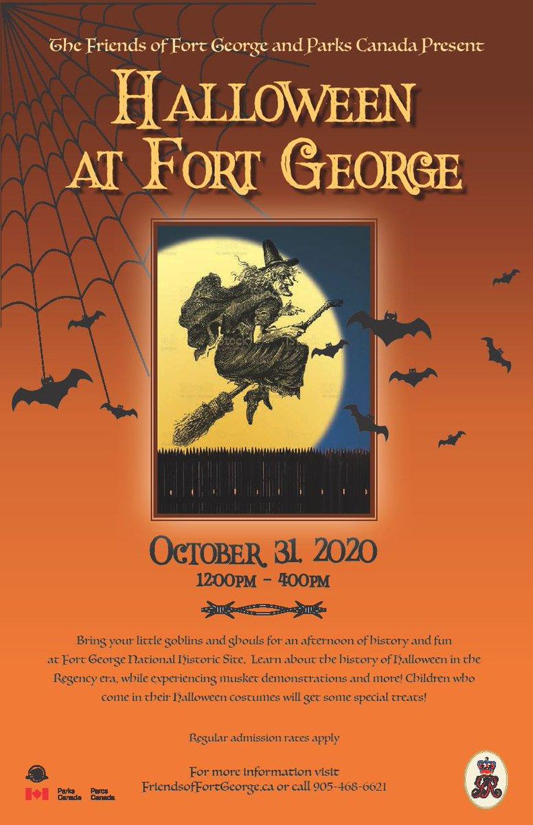 Hallowe'en at Fort George