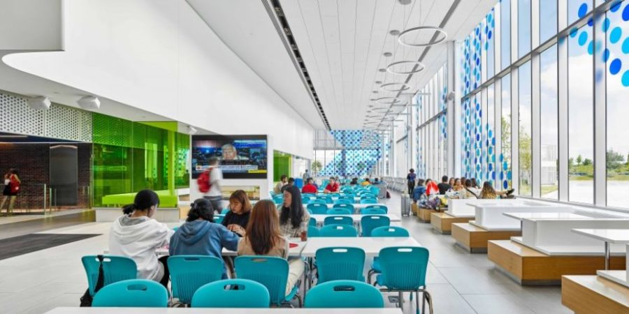 Student Commons earns prestigious design award nomination