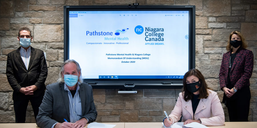 Path-breaking agreement leads Niagara College students to real-world experience at Pathstone