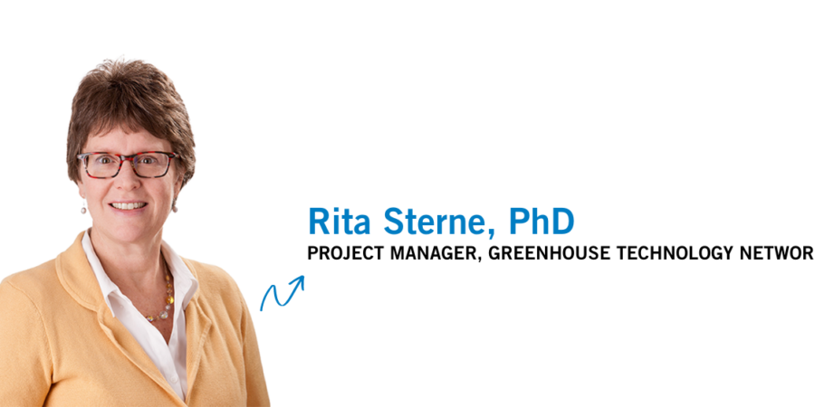 Business strategist, Rita Sterne, PhD  named project manager at NC-led Greenhouse Technology Network