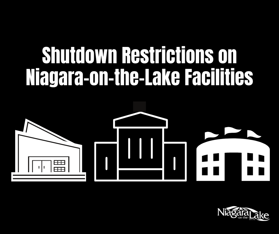 Shutdown Restrictions on Town Buildings & Facilities