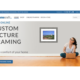 Now Online! Custom Picture Framing from your Home