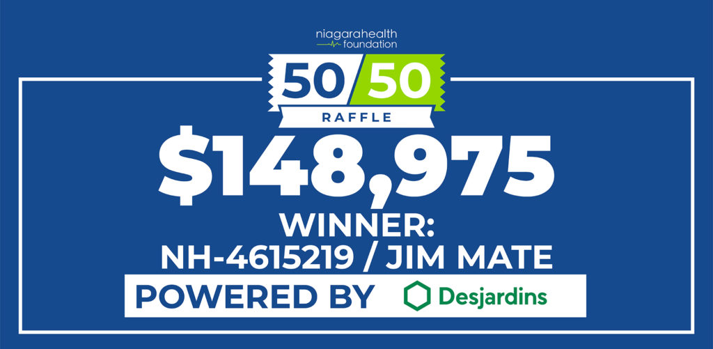 Thorold resident and Niagara Health staff member wins $148,975 in group of tickets bought with 11 co-workers