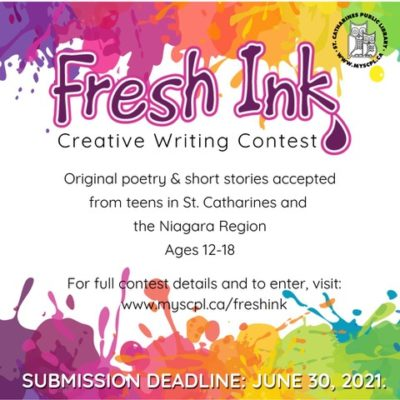 Fresh Ink Creative Writing Contest