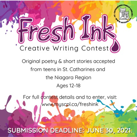 Fresh Ink Creative Writing Contest