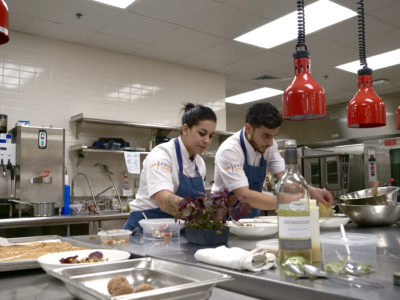 Niagara College alumna Erica Karbelnik devours the competition on Food Network Canada's Top Chef Canada