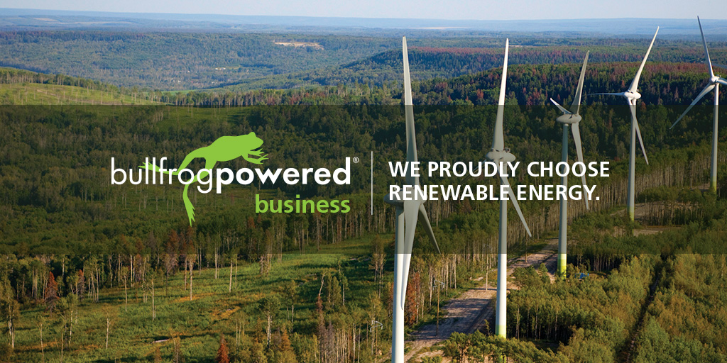 PenFinancial Credit Union signs on for green electricity and green natural gas with Bullfrog Power®