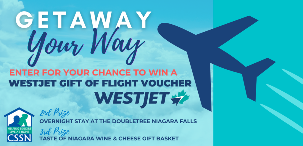 Community Support Services of Niagara is excited to announce our Getaway Your Way Raffle Fundraiser!