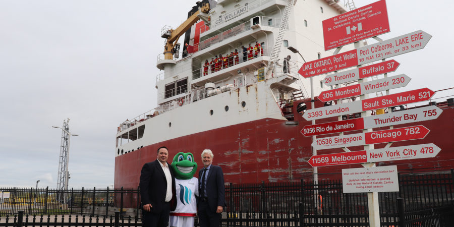 Canada Steamship Lines And Niagara Host Society Reveal Partnership And Exciting Plans For The Torch Relay Program Of The Niagara 2022 Canada Summer Games
