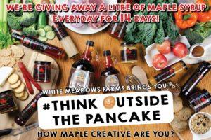 #ThinkOutsideThePancake – How Maple Creative are You?