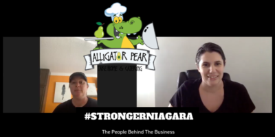 #STRONGERNIAGARA Episode 10: Meet Tara Lisoy, Chef and Owner of Alligator Pear Take Home & Catering