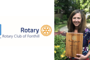 Rotarian Mel Groom Named Rotarian of the Year 2019-2020