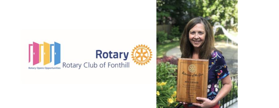 Rotarian Mel Groom Named Rotarian of the Year 2019-2020