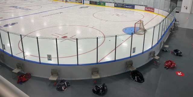 Ice Rentals are now available in the Accipiter Arena!