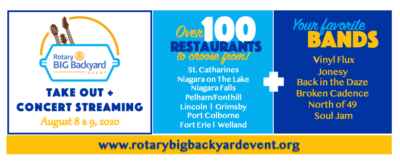 Support Local! Rotary Big Backyard Event is this Weekend