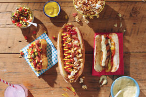 How to Host a Hot Dog Bar Party