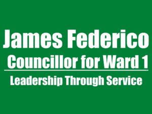 James Federico, Pelham Council Candidate Ward 1