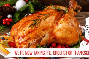 Country Corner Market Now Taking Pre-orders for Thanksgiving
