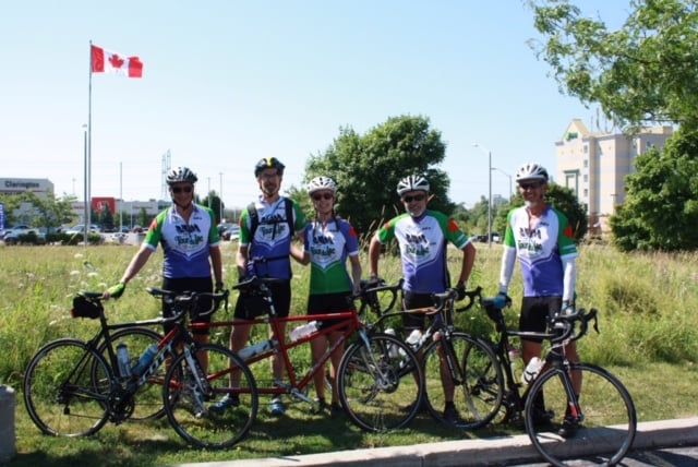 Pedal for Polio Event Sponsored by Canadian and American Rotarians