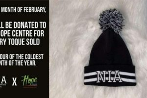 Niagara Inspired Apparel Toque Sales Support The Hope Centre