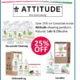 Save 25% on Canadian Made Attitude Cleaning Products