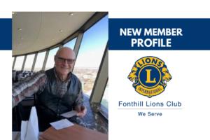 Meet New Fonthill Lion: Ed Hazlett