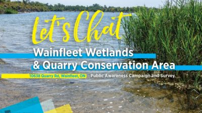 NPCA & Township Of Wainfleet Launch Public Awareness Campaign