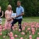 U-PIck Tulip Farm the latest recipient of the Beautification Committee's Thank You campaign