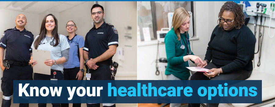 Know your Options: Emergency and Urgent Care Services at Niagara Health