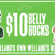 Vermeer's Garden Centre Celebrates 60 Year Anniversary with M.T.Bellies 'Belly Bucks' Promotion
