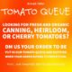 Get Your Organic Tomatoes!