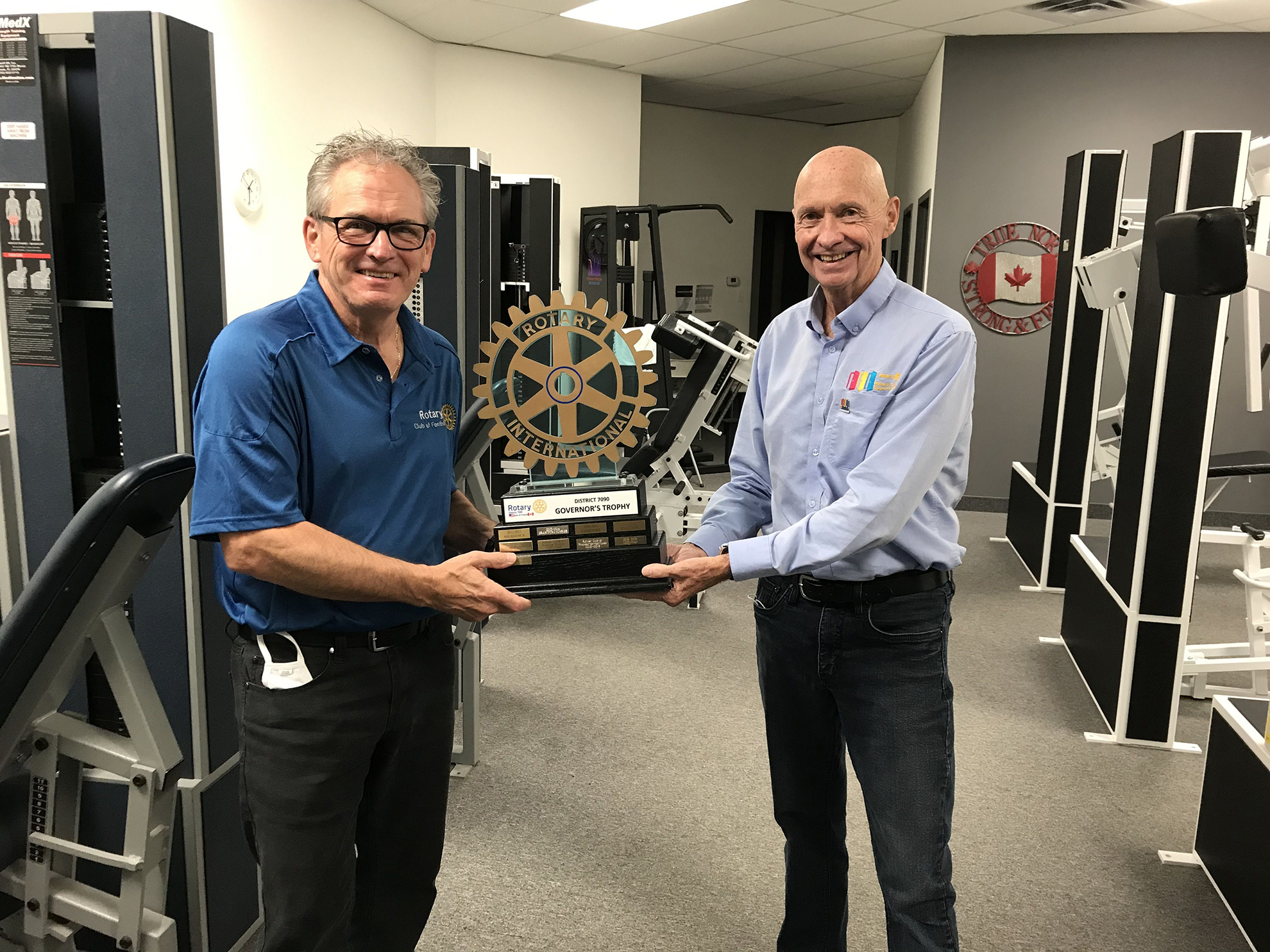 Rotary Club of Fonthill Receives Three Prestigious Awards for 2020-21