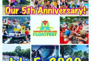 Save The Date! 5th Annual Canadian Tire Welland Floatfest