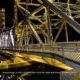 Bridge 13 Illuminated In Yellow To Signify Hope