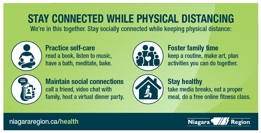 Stay Connected While Physical Distancing