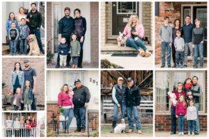 Local Photographer Launches 'Front Steps Portraits' in Support of Open Arms Mission