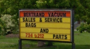 Bertrand Vacuum Cleaners Sales & Services