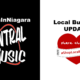 Central Music in Downtown Welland Open for Online Sales