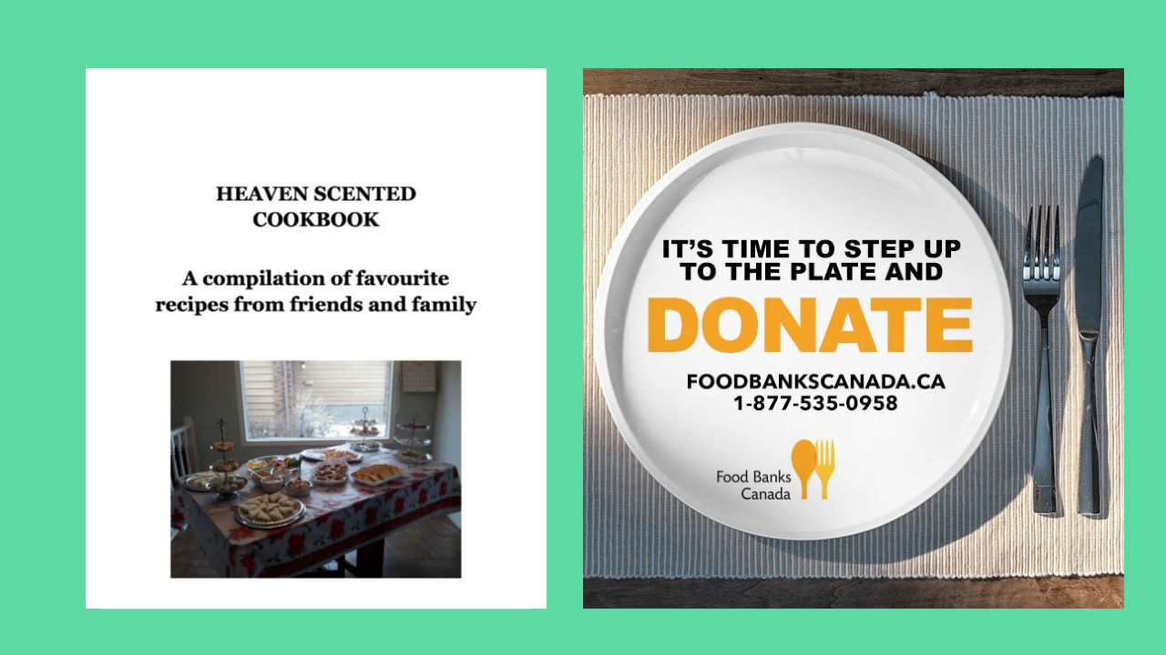 Local Cookbook Supports Food Banks Canada