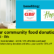 Save at the ReStore with a Food Donation