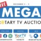Rotary Notebook: MEGA Rotary TV Auction