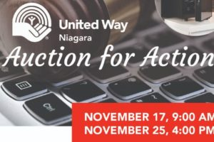 United Way Niagara ONLINE AUCTION Now Open!