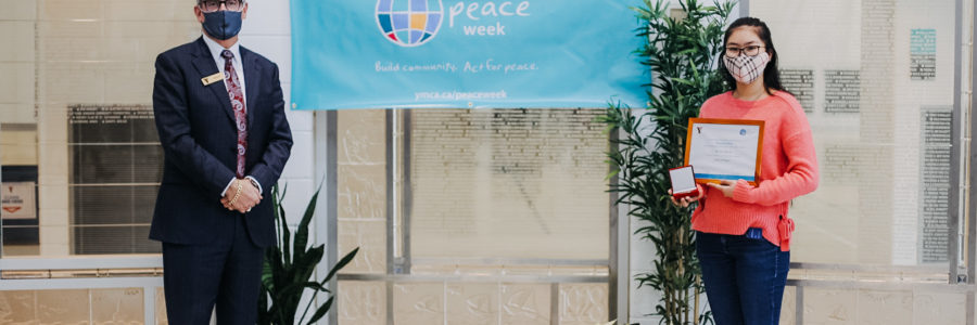 YMCA of Niagara Honours Local Peacemakers during YMCA Peace Week